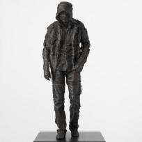 4.79 Andy Denzler - Selfportrait (2009), bronzová socha