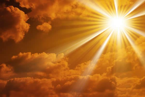 L'uomo dimora nel Sole