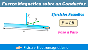 Fuerza Magnética sobre un Conductor Eléctrico