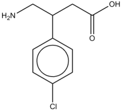 baclofenstructure