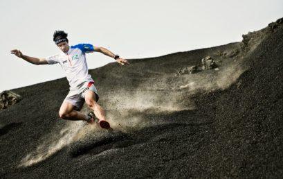 Forza di reazione al suolo durante la corsa in discesa e in salita