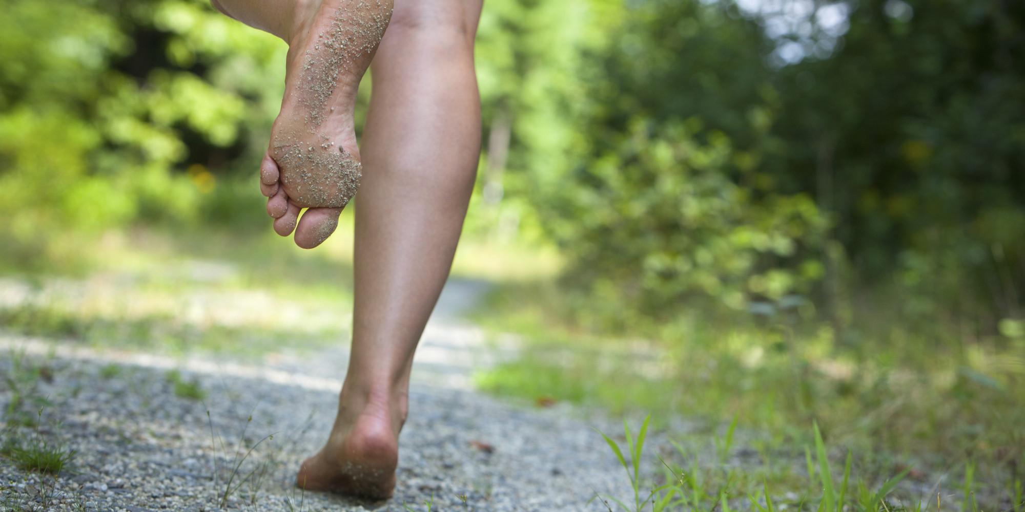 Effetti della corsa sui muscoli e sulle ossa del piede