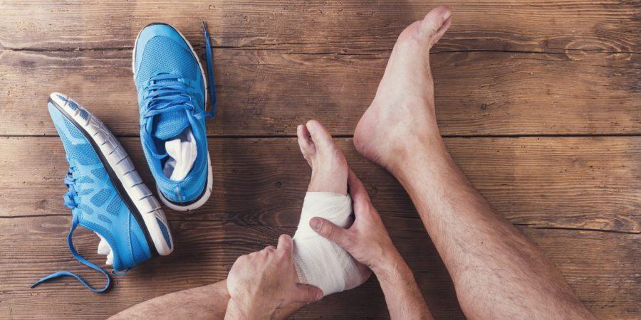 Distorsione laterale di caviglia: valutazione e trattamento