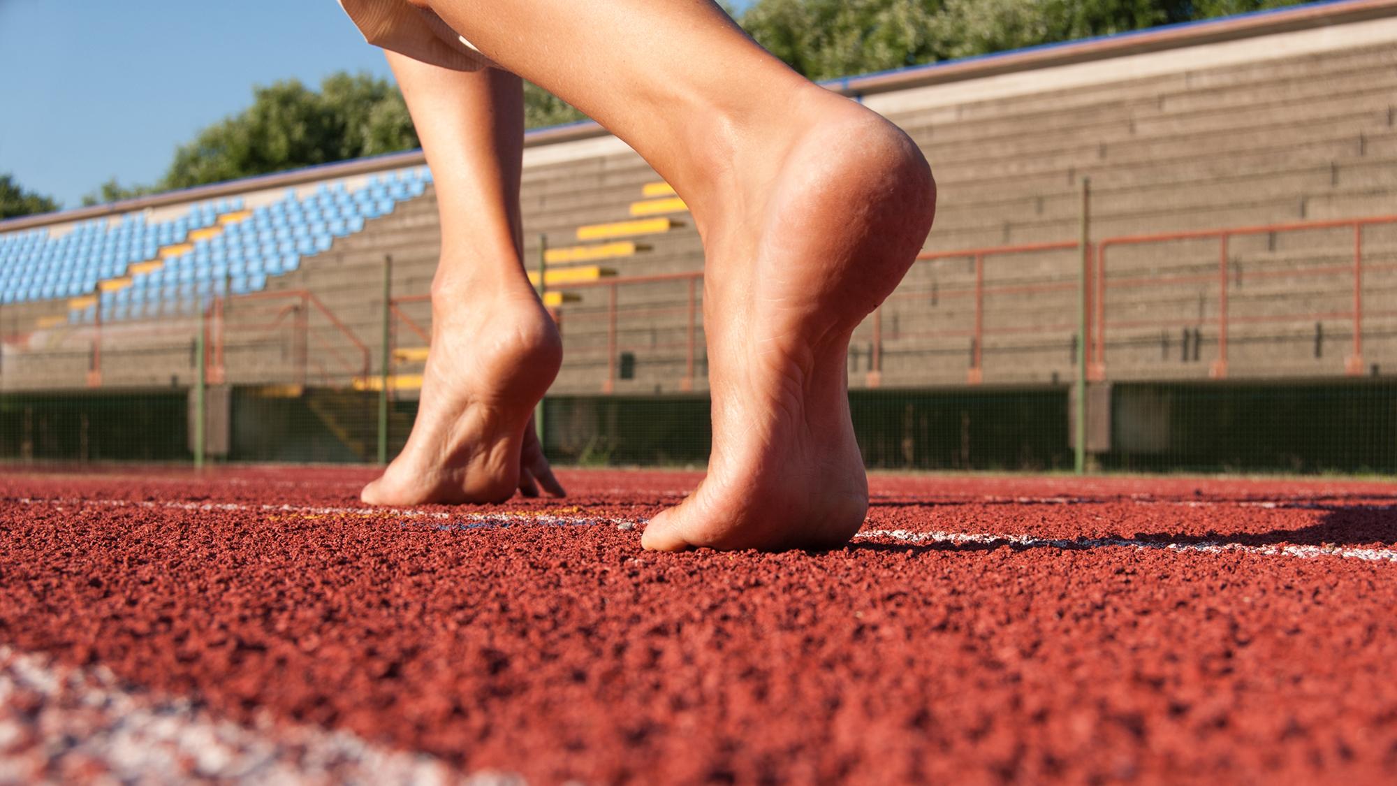 Rinforzo dei muscoli del piede e infortuni associati alla corsa