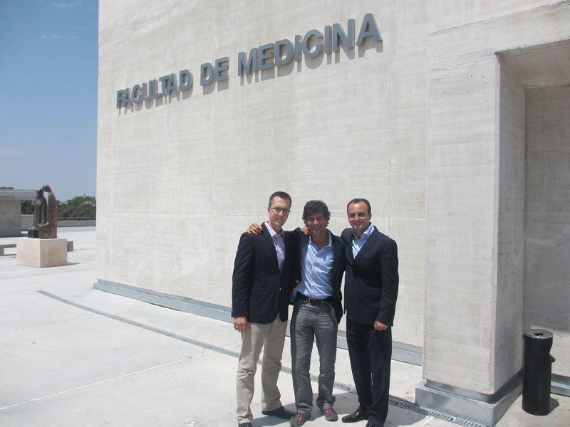 fisiomuro en el TFM en el CEU de Madrid