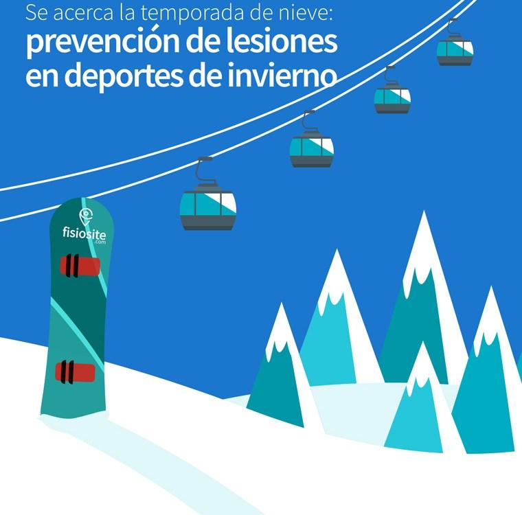 prevencion de lesiones en deportes de invierno