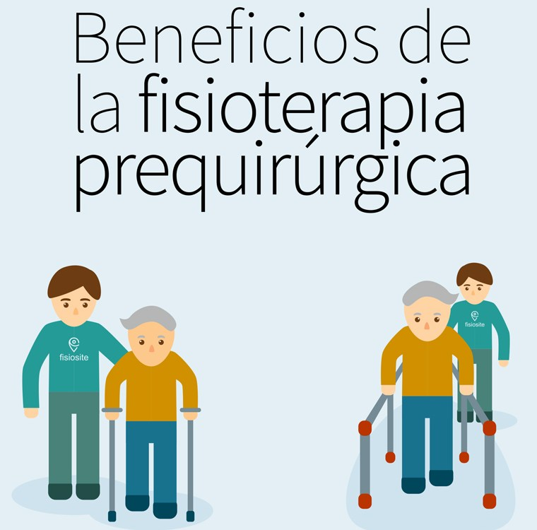 Beneficios de la fisioterapia prequirúrgica