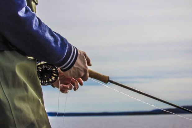Ingen fisk denne dagen.