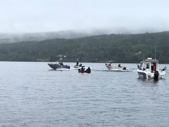 Over dobbelt så mange enn forventet dukket opp på NM i abborfiske