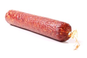 Salami in Fibrous Casings