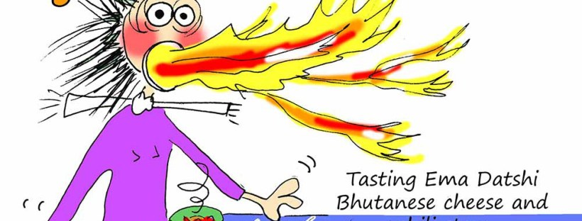 Bhutan cartoon Banner Fissos World