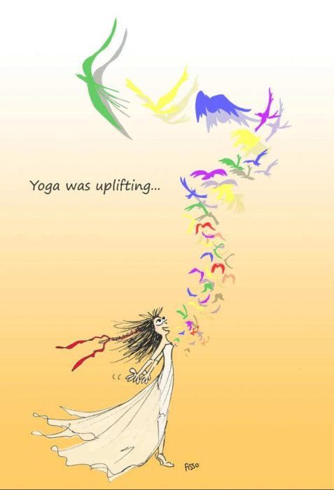 OM my Yoga Cartoon Story Fissos World On Yoga Journey 11