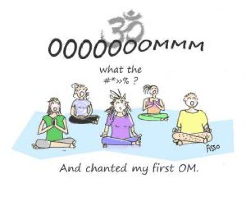 OM my Yoga Cartoon Story Fissos World Yoga Beginnings 3