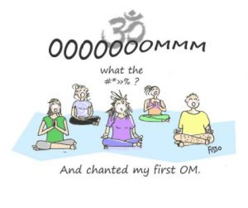 OM my Yoga Cartoon Story Fissos World Yoga Beginnings 3