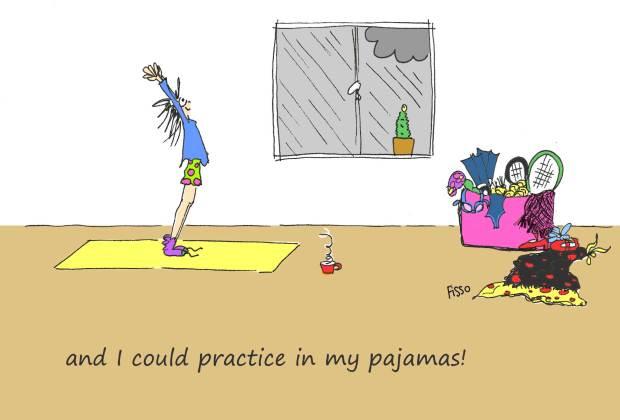 OM my Yoga Cartoon Story Fissos World On Yoga Journey 16