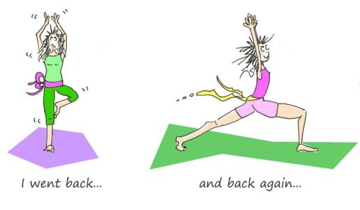 OM my Yoga Cartoon Story Fissos World Yoga Beginnings 7