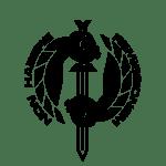 Fists of Heaven Black Emblem Logo