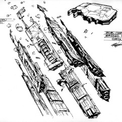 Homeworld Concept Art - Rob Cunningham - Chapel Perlious