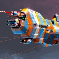 Homeworld Concept Art - Rob Cunningham - Unknown Capital Ship Concept