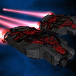 Homeworld Cataclysm Fan Art - FG Durianov - Beast Interceptors