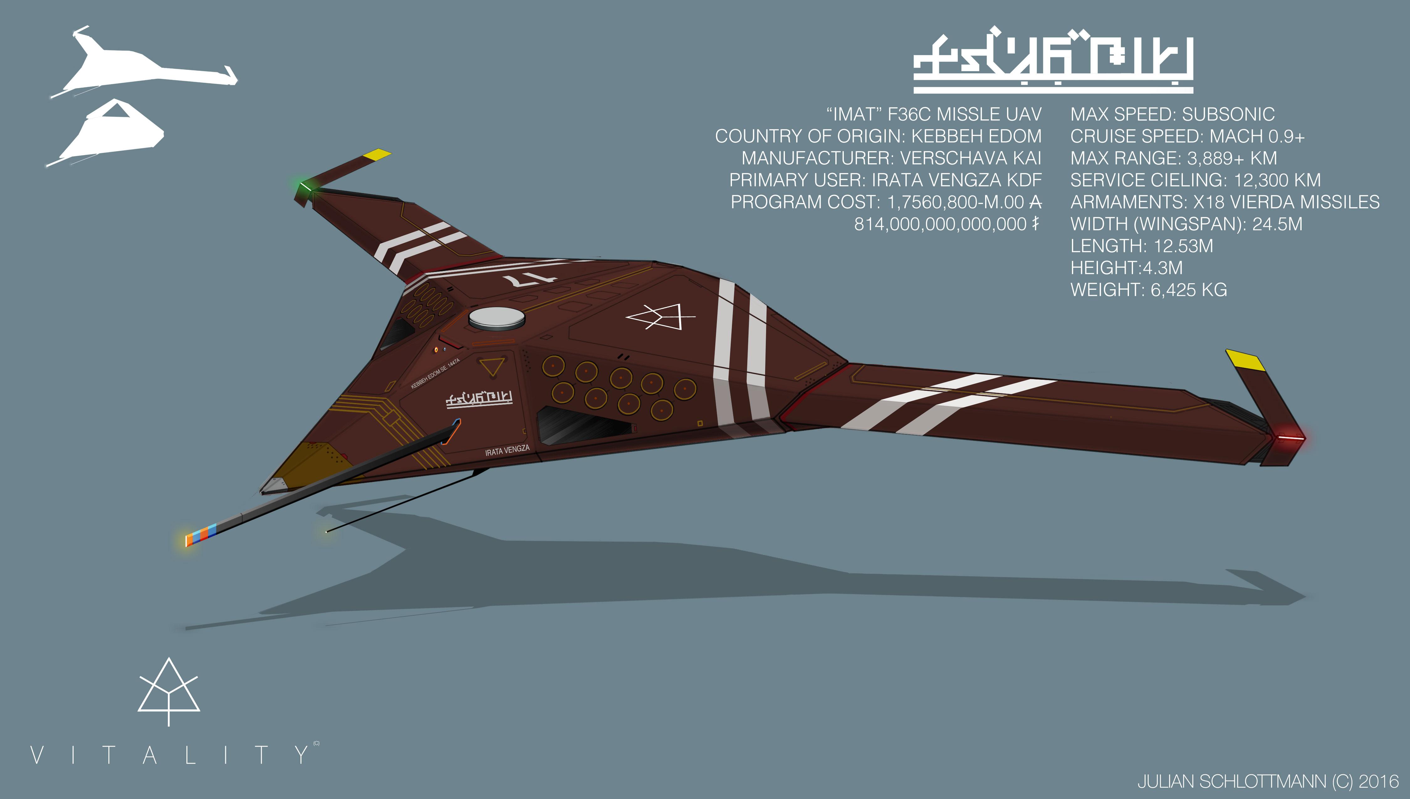 IMAT missile UAV - Julian Schlottmann