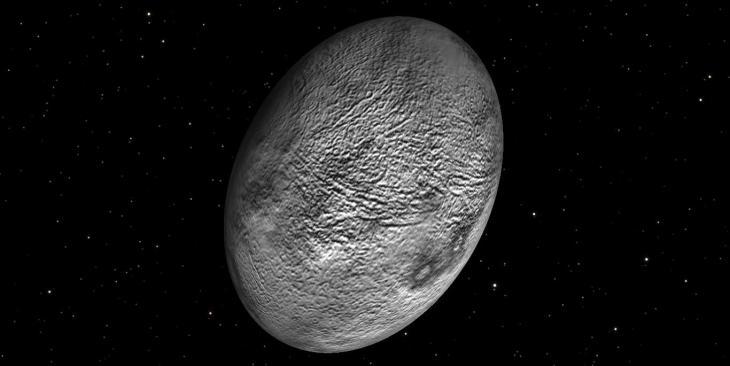 the dwarf planet