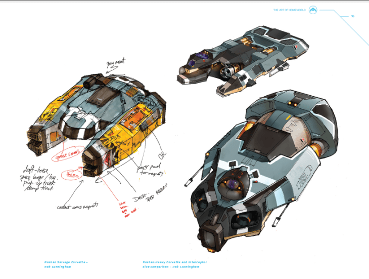 Salvage Corvette Concept Art