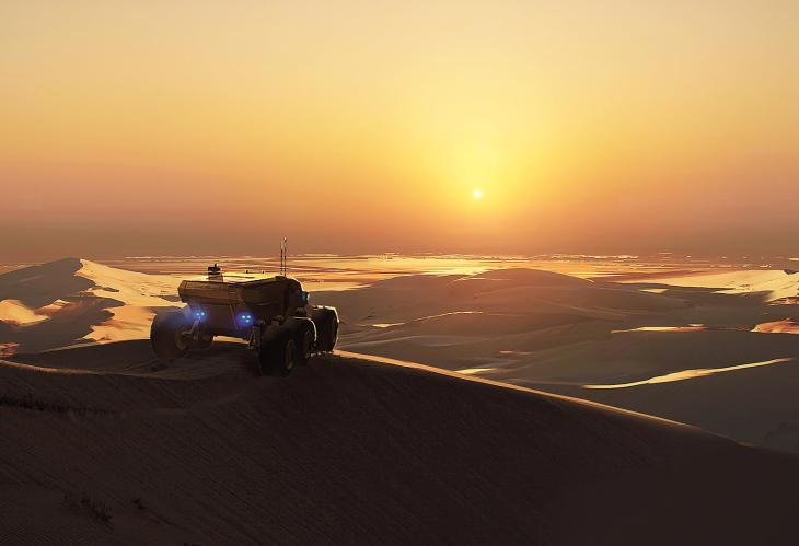 Baserunner Vista - Deserts of Kharak - Concept Art - Brennan Massicotte