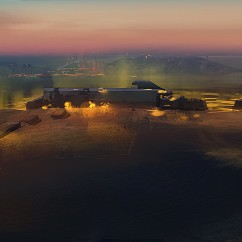 Desert Twilight - Deserts of Kharak - Concept Art