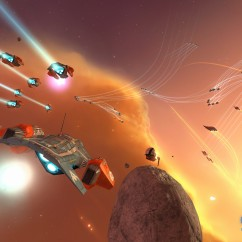 Homeworld Remastered - Screenshot - Attack Bomber - Gearbox