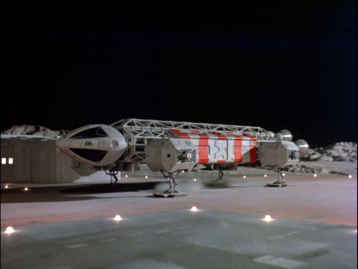 Space 1999 Show Screensho The Eagle Transporter in action