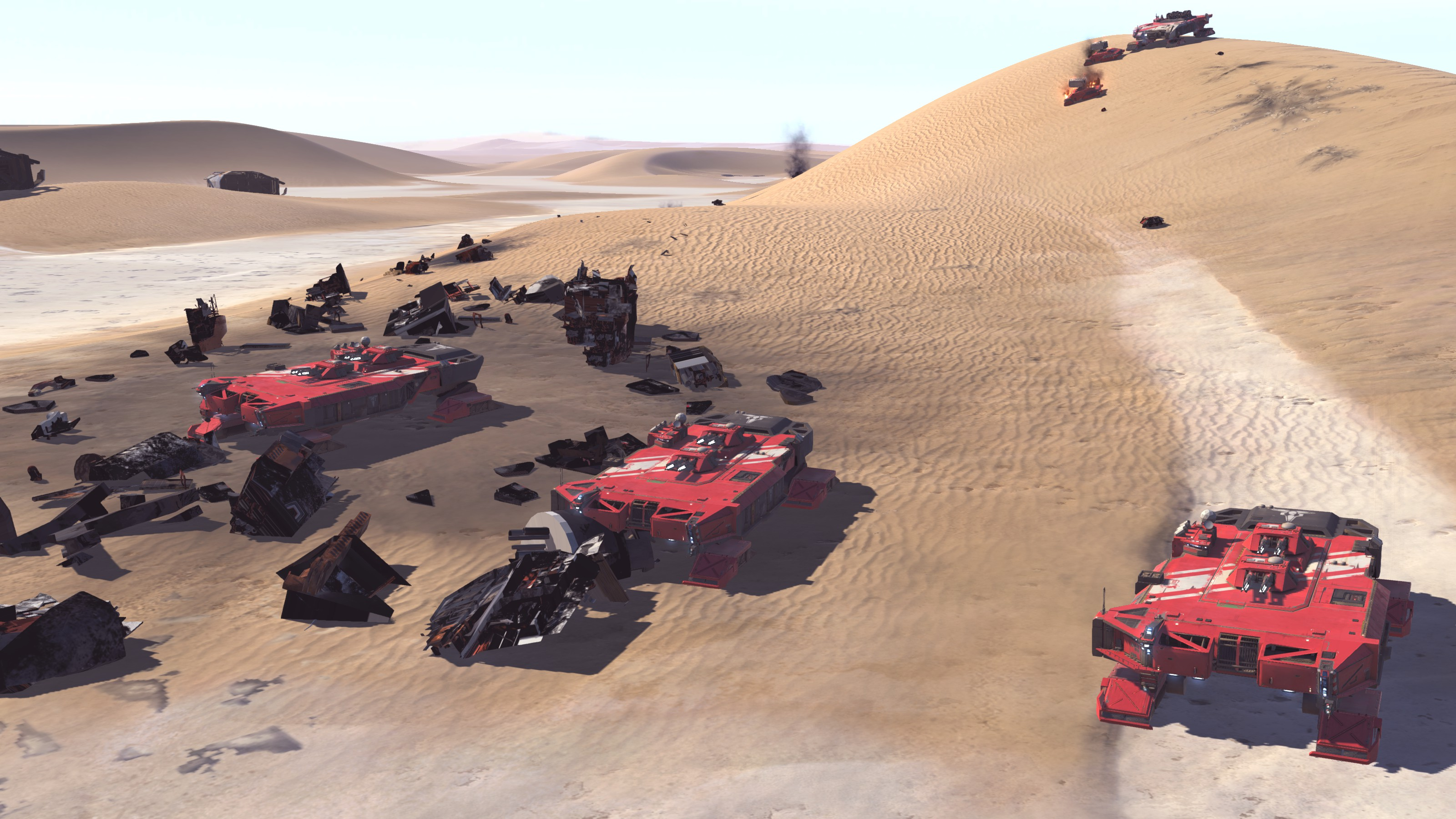 Deserts of Kharak - Soban DLC Screenshot - Battlecruiser - Fists of Heaven