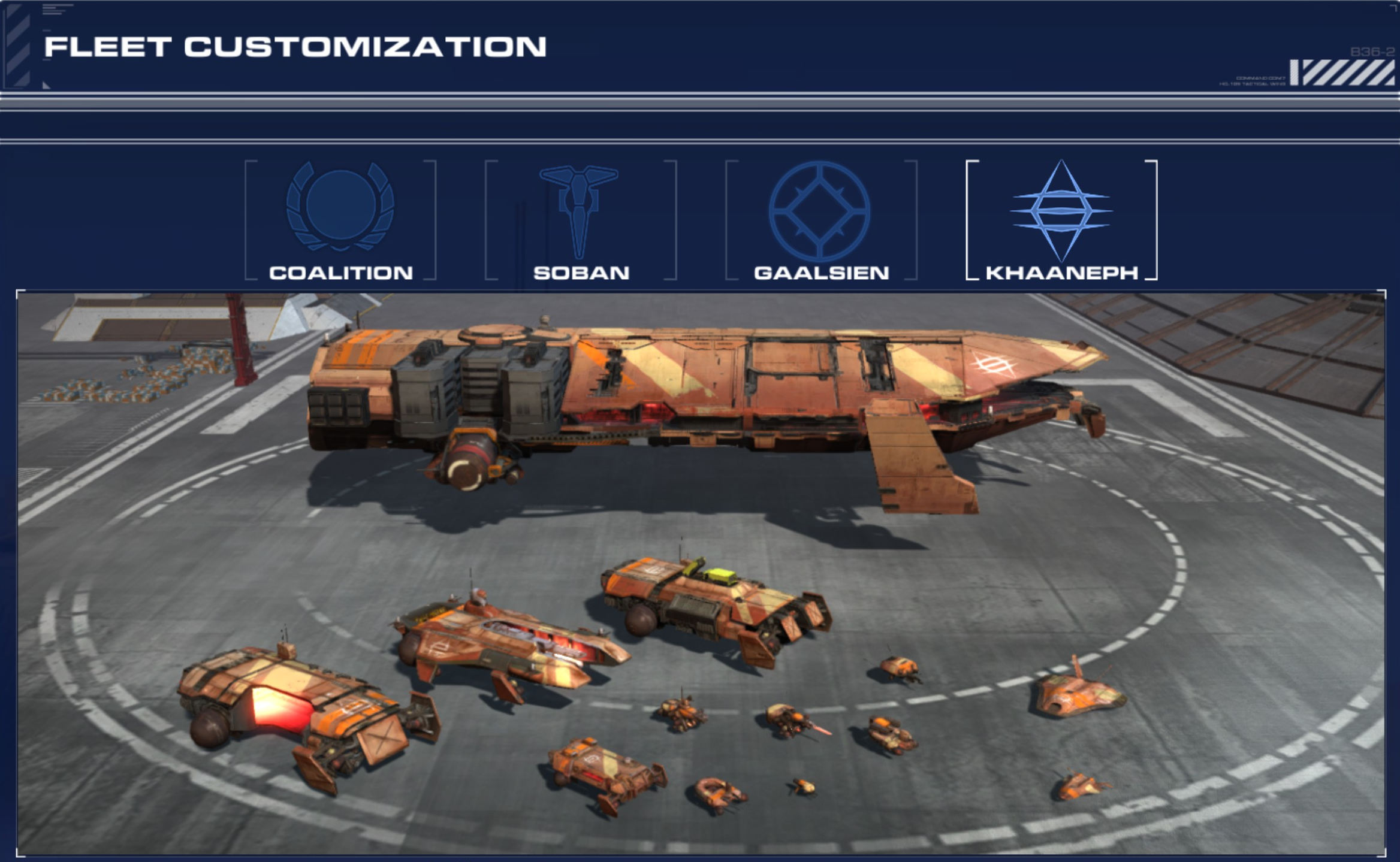 Homeworld Deserts of Kharak Khaaneph DLC - Ship Comparisons - Fists of Heaven
