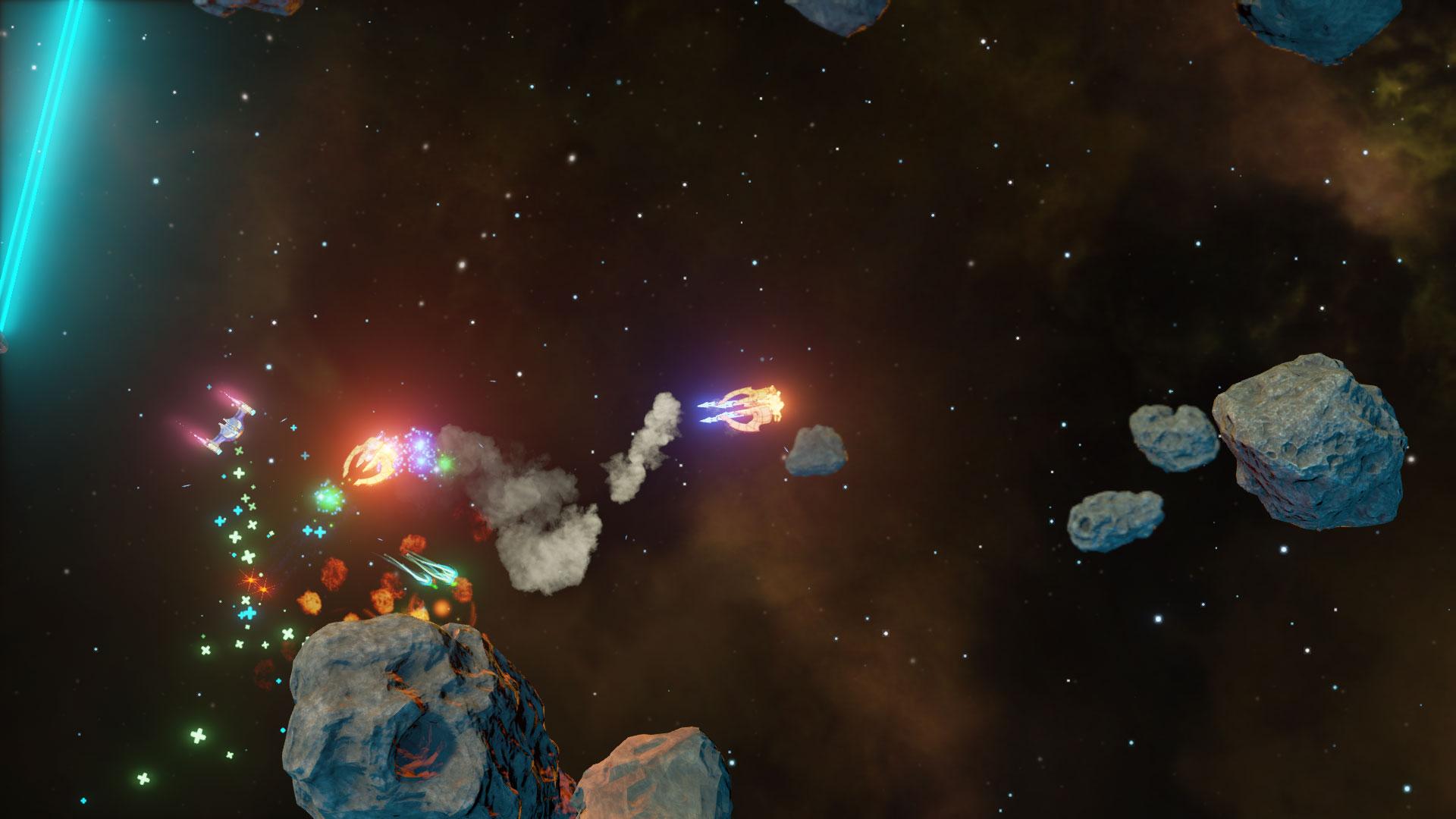 Procedurally Generated Quasar 3