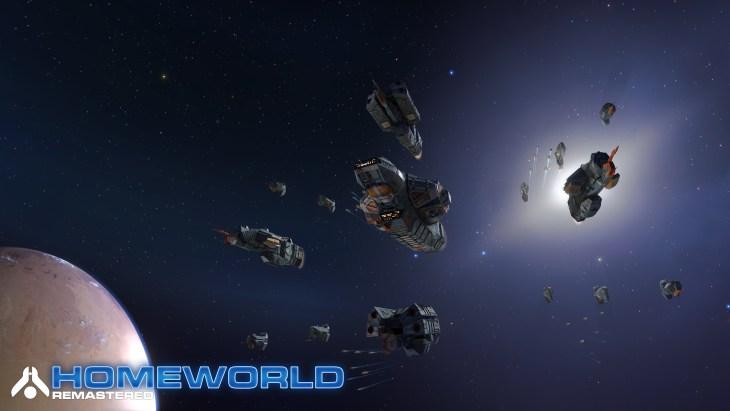 Homeworld Remastered - Screenshot - Kushan Fleet - Gearbox