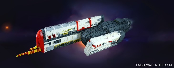 Lego Vaygr Destroyer - Tim Schwalfenberg