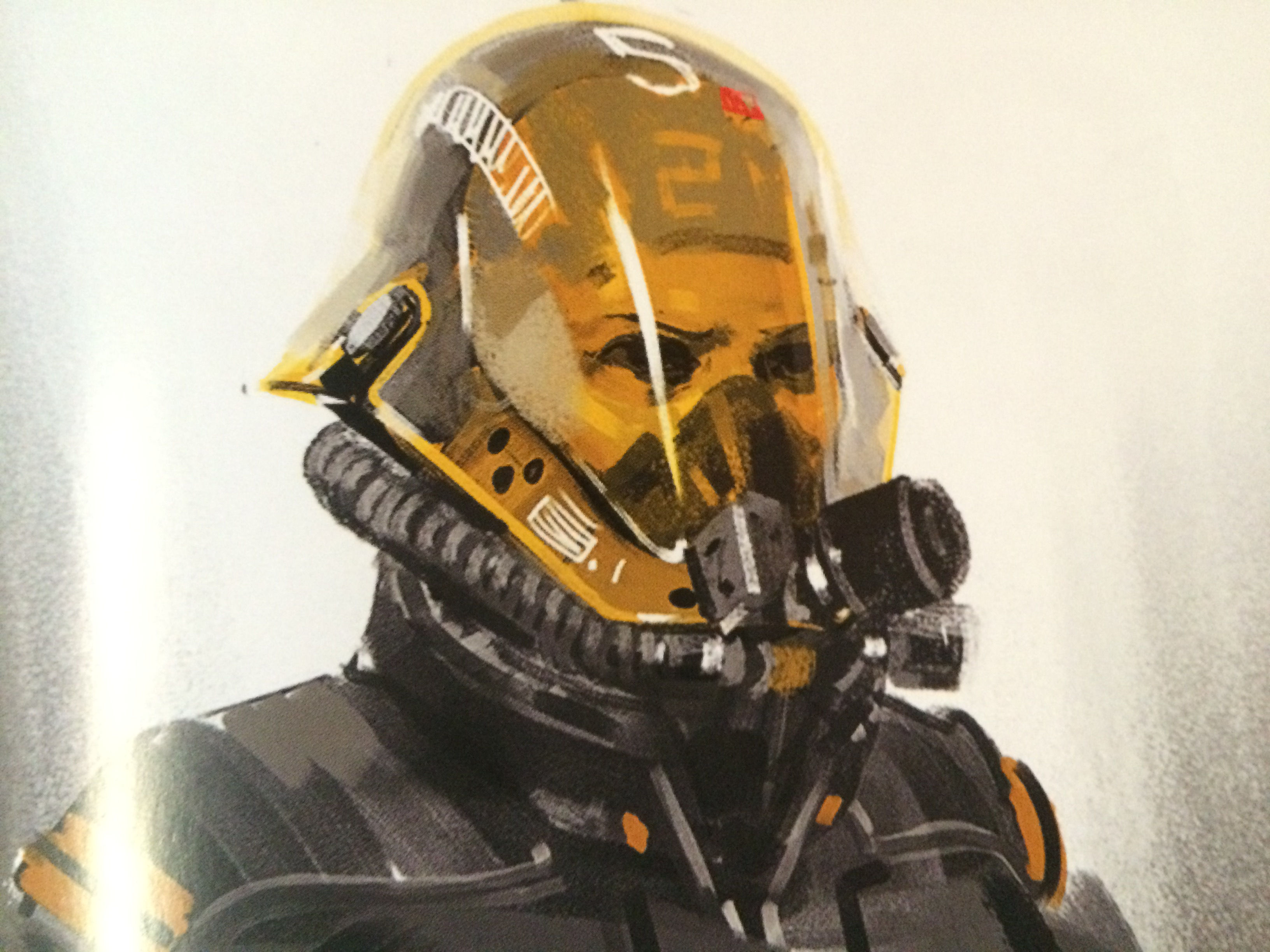 Homeworld Deserts of Kharak Collector's Edition Concept Art - Desert Personnel Helmet Concept