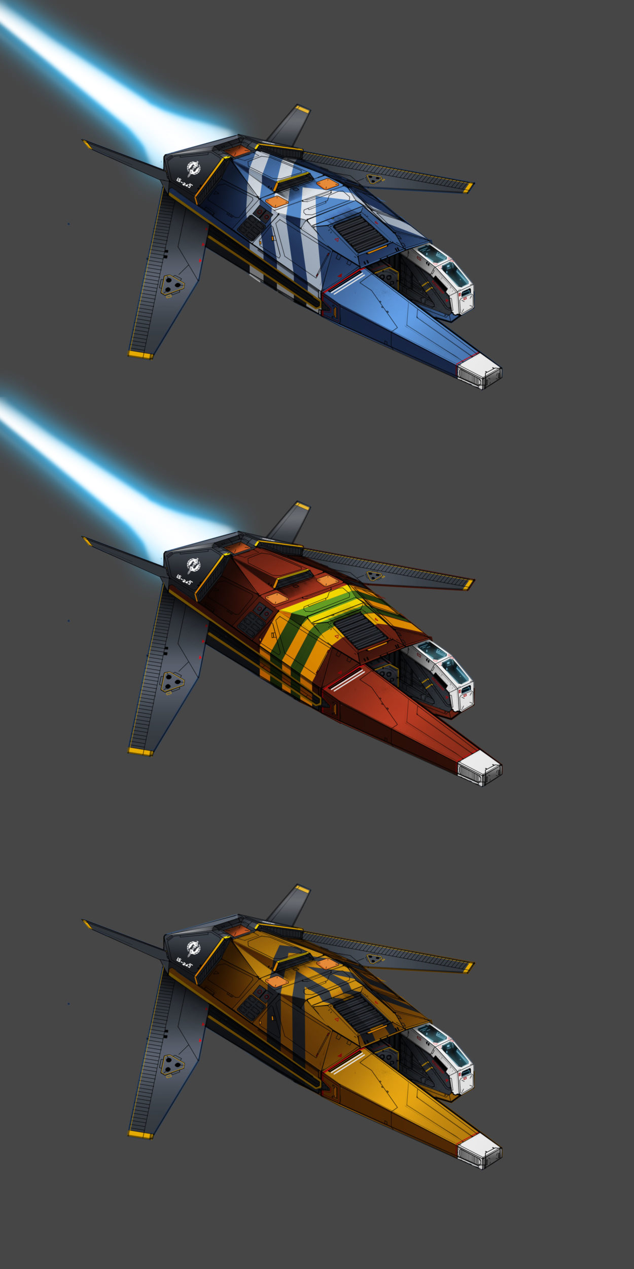 Shaar-Tol Interceptor Colors