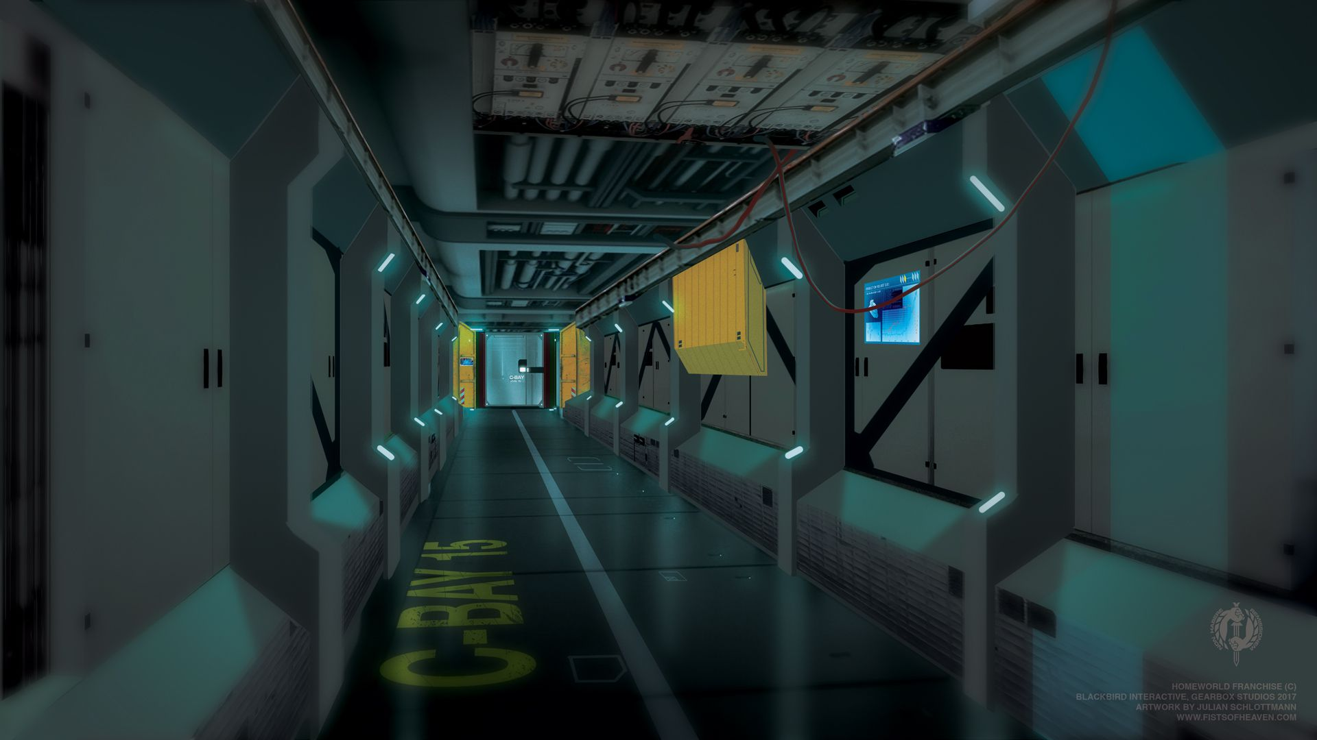 The Encounter - Hallway
