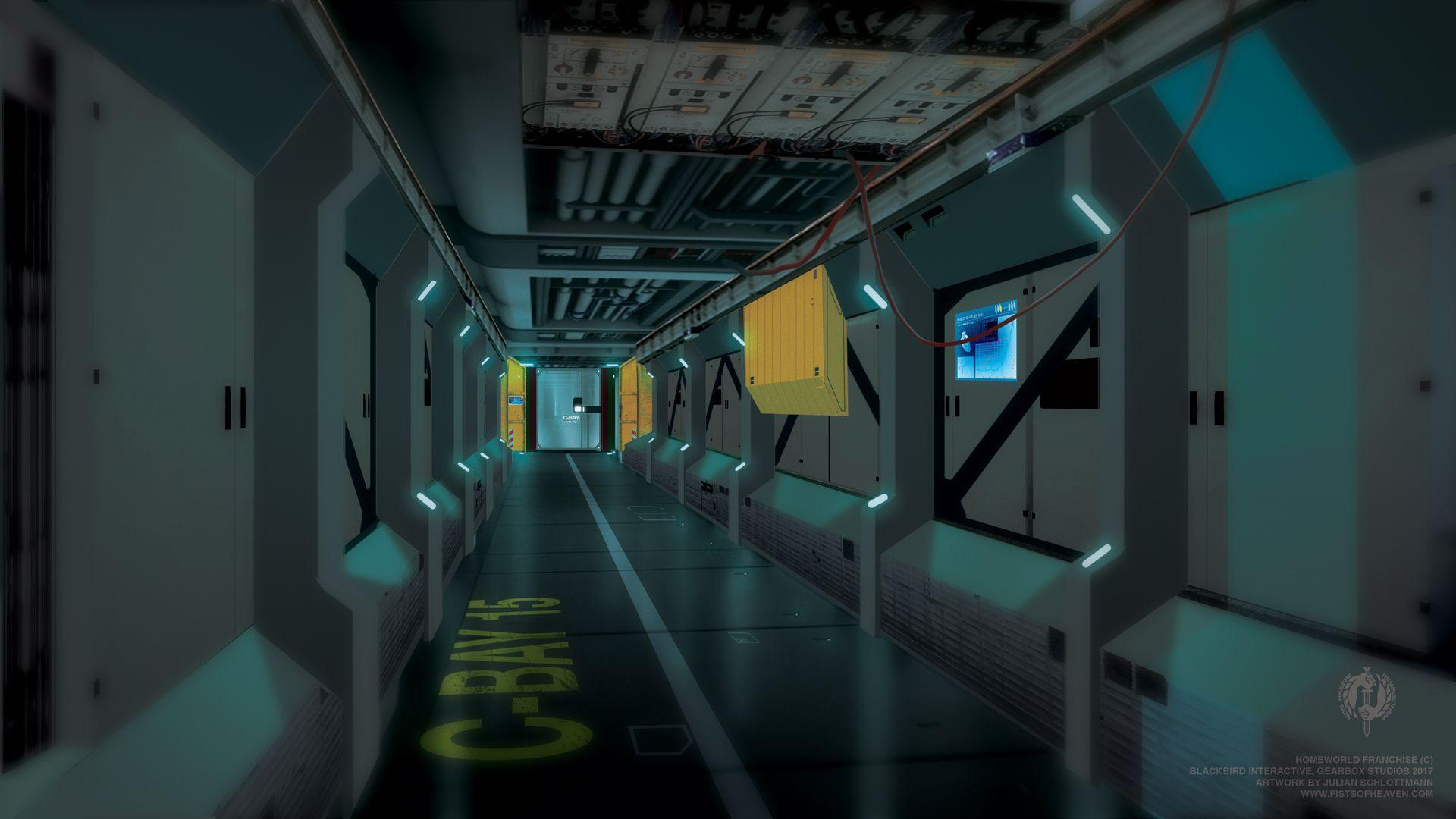 The Encounter - Hallway