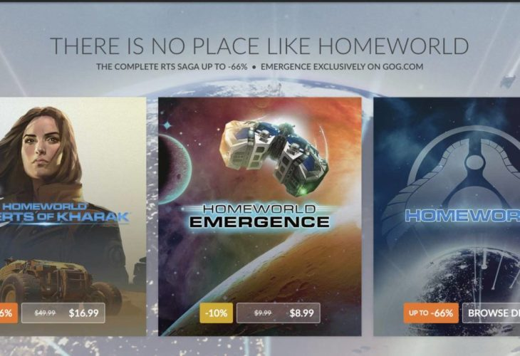 Homeworld: Emergence and Deserts of Kharak Giveaway from GoG & FoH!