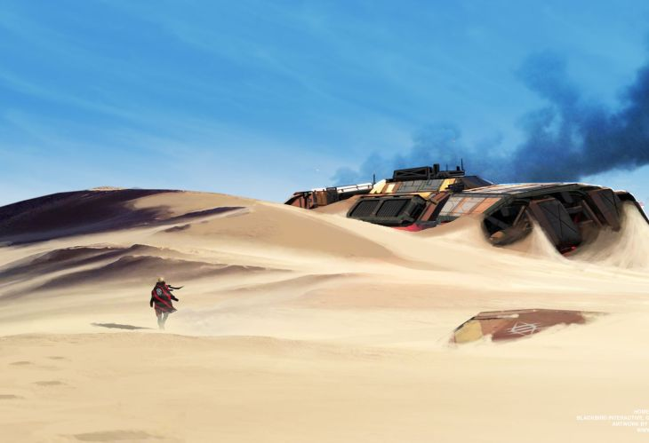 I Am Khaaneph - Homeworld Deserts of Kharak Fan Art - Fists of Heaven - 1920 - 02