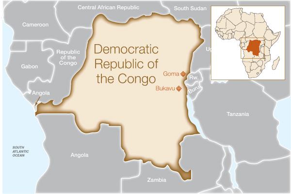 Fistula Foundation: Congo - Map