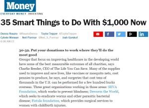 Money Magazine Fistula Foundation