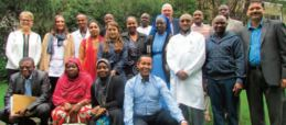 Fistula Surgeons Pose for a Photo During the Meeting