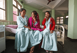 Nepal - smiling fistula patients