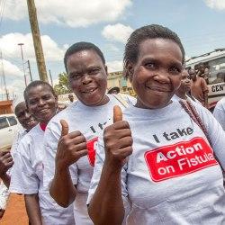 Outreach in Mumias, Kenya