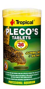 Tropical pleco's tablets