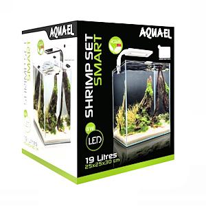 Aquael nanoakvaario 19 litraa