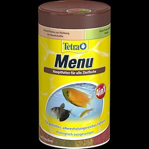 Tetra menu